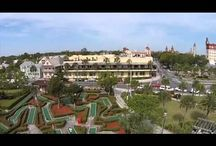 Aerial St. Augustine / See St. Augustine from above! Videos and photos provide beautiful birdseye views of Florida's Historic Coast...