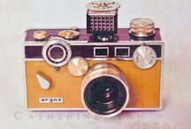 cámaras fotográficas / by Paty Hernandez