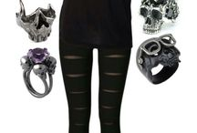 Goth clothes