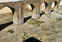 Acueducto y Termas romanas de Almuñecar. Siglo I d.c. Granada / Photo Travel History Art Architecture Archaeology Fotografía Viajes Historia Arte Arquitectura Arqueología