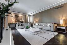 progettazione interni living room