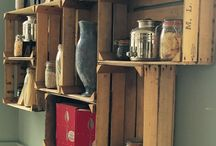 Craft Room Ideas / Love seeing how people organize and decorate their creative spaces.