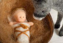 Gyapjú csodák / Gyapjúból, filcből készült figurák