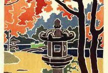 Art-Eastern-Japanese-Yoshida Toshi (1911-1995) / Toshi Yoshida (1911-1995)
