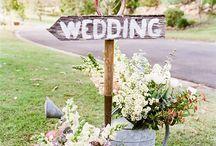 Bröllop - pynt