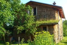 Domy a domky / Inspirace z přírodního a nízkonákladového stavitelství