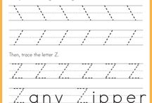 Letters (Tracing Worksheets) / Here is a selection of some of the great, FREE tracing worksheets available on the Internet.