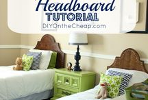 DIY & Crafts that I love headboards to LOVE