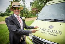 Crabbie's Wedding / We spiced up Shane and Alison's wedding with a spot of #CrabbiesTime... cheers to the bride and groom!