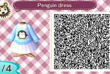 Penguin dress qr code acnl(ideal ara el invierno)