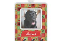 Photo Christmas Ornaments for Pets! / Cute photo Christmas Ornament for pets.  Personalized photo ornament.