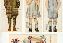 Paperdoll as children / Children of history as well as foreign lands  / by Marien Rutigliano