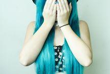 HairBlue