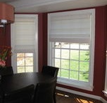 Roman Shades / The look of a drapery but with a function of a shade, providing a soft, traditional appeal.