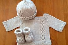 Baby Jumpsuits/overalls/pants - knitted