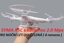 Čína kde se vyrábějí RC modely jako je Walkera a.t.p. / Quadrocoptér RC modelů