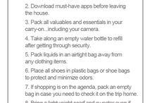 Travel hacks / Little tips and tricks to help the discerning traveler...