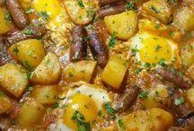 pommes de terre merguez