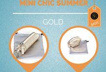 Mini chic summer / Mini #chic #summer! Cool, basic and cute #leather #accessories by #CepiPelletterie Find more: http://goo.gl/jWPiQ7