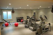 Basement Workout Room Ideas / Basement