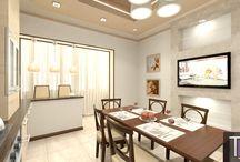 Дизайн интерьера квартиры в Пятигорске / Проект квартиры. Бежевые тона.