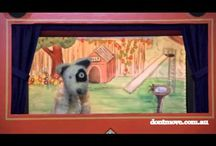 Video excerpts of my puppet shows / Video excerpts from my puppet shows performed at schools and kindergartens in Melbourne.