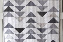 Neutral Quilts / Neutral Quilts, Monochromatic Quilts, Low Volume Quilts