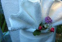 Art of towel folding