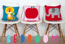 KIDS ROOMS // KINDER ZIMMER / KIDS ROOMS - INTERIOR // DIY // WALLPAPERS // CUSHIONS