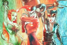 Catwoman&Harley&Ivy