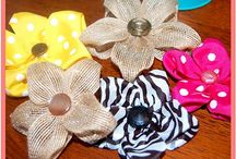 Bows & Flower DIY / by Sheila Lott