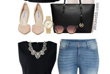 Personal Style for Plus Size Women / Plus size fashion for stylish ladies