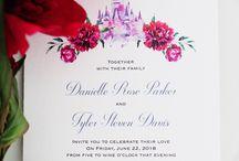 Disney invitations
