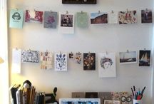 Hanging pictures ideas