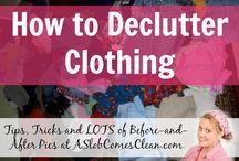De- Cluttering