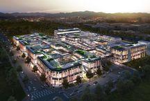 "works: 마스터플랜 프로젝트.. ""MARCH AVENUE, Cheon-an"" / Culture Theme street mall 천안 서북구에 조성되는 테마형 스트리트 몰"
