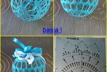 crochet ball, horgolt gömb
