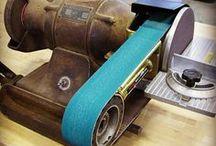 Bandschuur machines