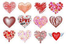 Tarjetas del amor y la amistad