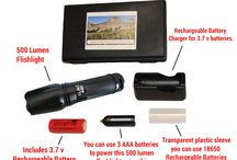 Rechargeable Flashlights / Rechargeable Flashlights
