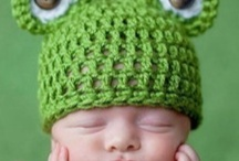 baby crochet hats / by Dawn Kowalczik