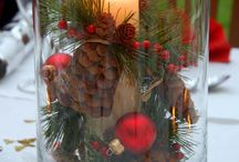 Xmas house decor / christmas home decoration, inspiration for christmas decor