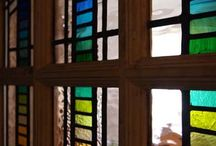 stained glass / Glass