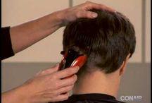 DIY mens haircuts