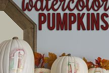 fall decorating / by Joan Annis