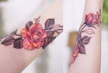 tattoos flowers