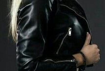 fashion, leather