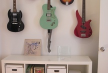 Guitar On Wall