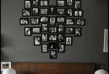 Photos wall ideas