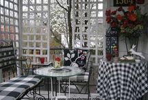 Private Porch / by Missy Velande